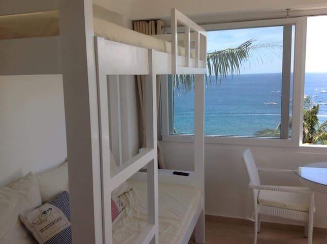 Ananda Room, Villa 3, The Cliff, Bulabog, Boracay - Malay - Lägenhet