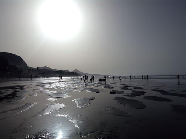 """Los Enanos"" Beach House - San Andrés - Daire"