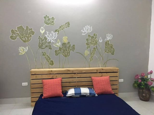 Lotus's house/Private room near West lake #302 - Yên Phụ - Casa