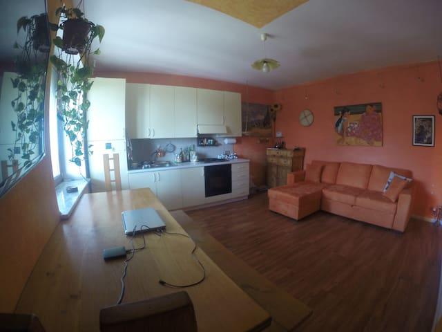 Panoramico appartamento vista mare - Rosignano Solvay - Apartemen
