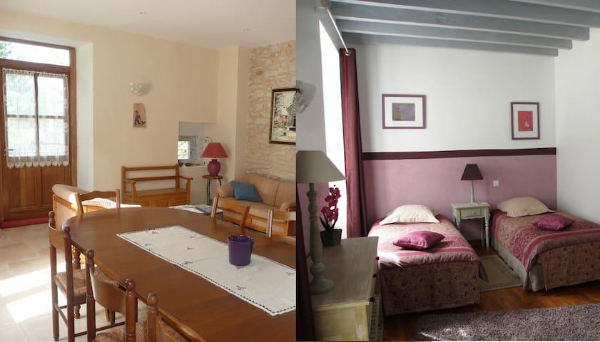 Chambre d'hôte dans un joli village - Hostun - 家庭式旅館