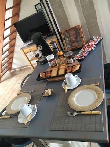 Bed & breakfast à 2' du futuroscope - Chasseneuil-du-Poitou - Huis