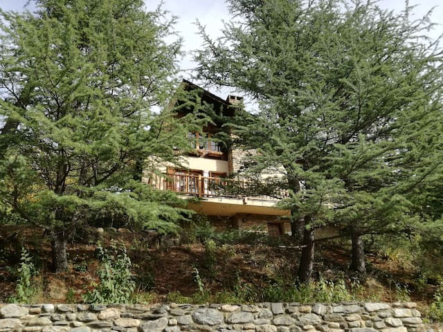 A house / cottage in the mountain. - Sort - Huis