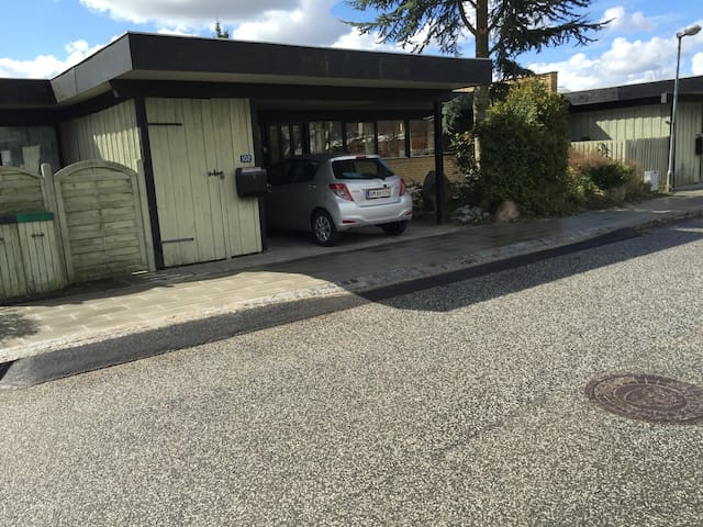 Hyggeligt gårdhavehus på 136 m2 - Lillerød - Casa