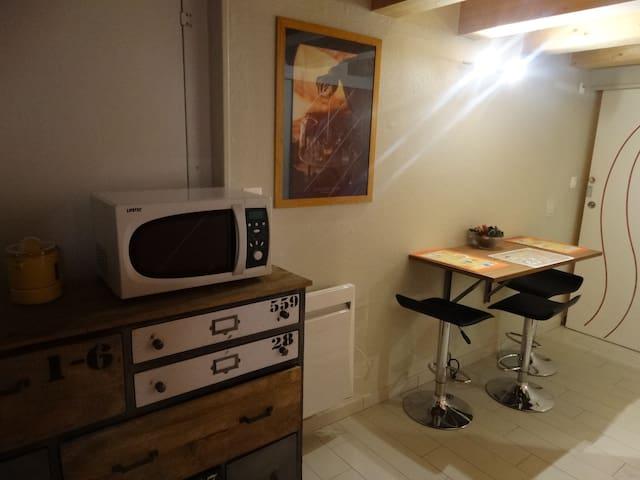 studio!entree independante  G  chambre  3couchages - Cissé - Hus