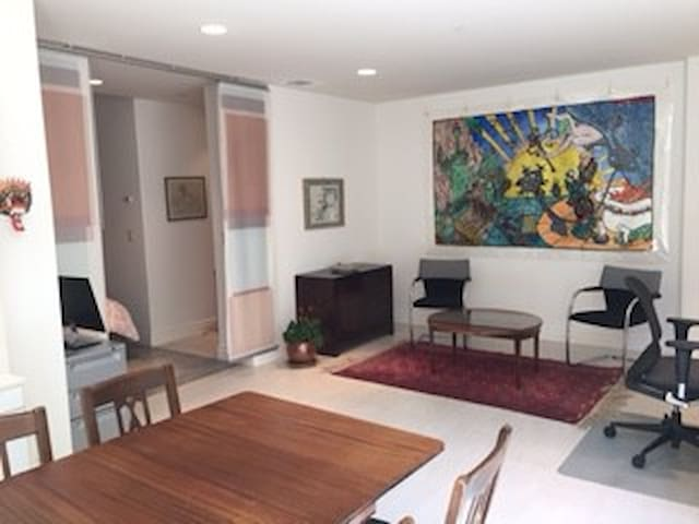 Spacious suite - 1 blk University Ave; own entry - Palo Alto - Rumah