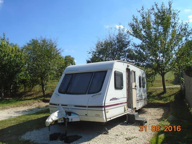 Sited Touring Caravan for Holidays - Koppányszántó