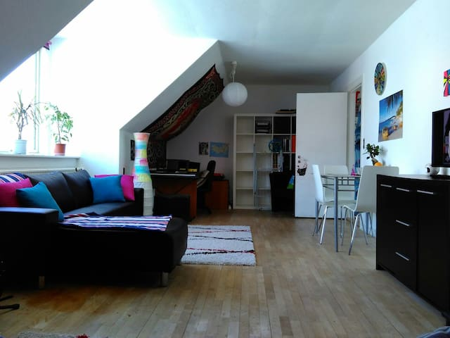 Family appartement in center Maribo - Maribo - Daire