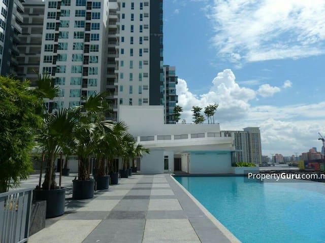Studio Apartment in KL above Shoping Mall - Kuala Lumpur - Apartmen