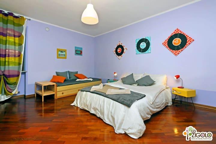 Lo Zigolo Bed and Breakfast - C2 - Roasio, Frazione Prucengo - Bed & Breakfast