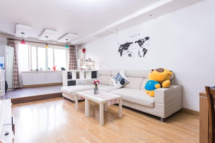 [Echo's cozy apartment]临近地铁5/13号线,有猫咪的共享房间 - Pequim