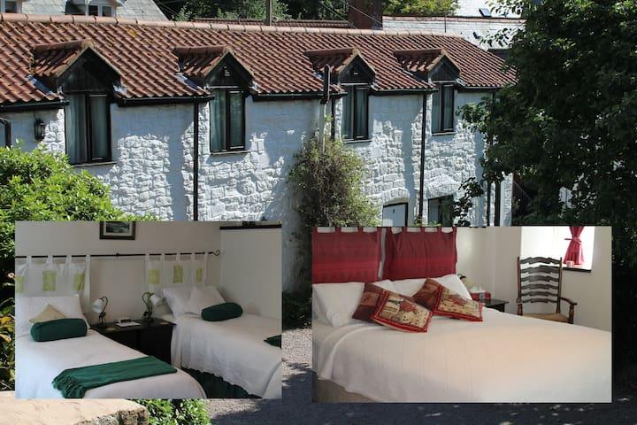 Old Brewery House (2 bedroom/2 bathroom) sleeps 4 - Redbrook - Daire
