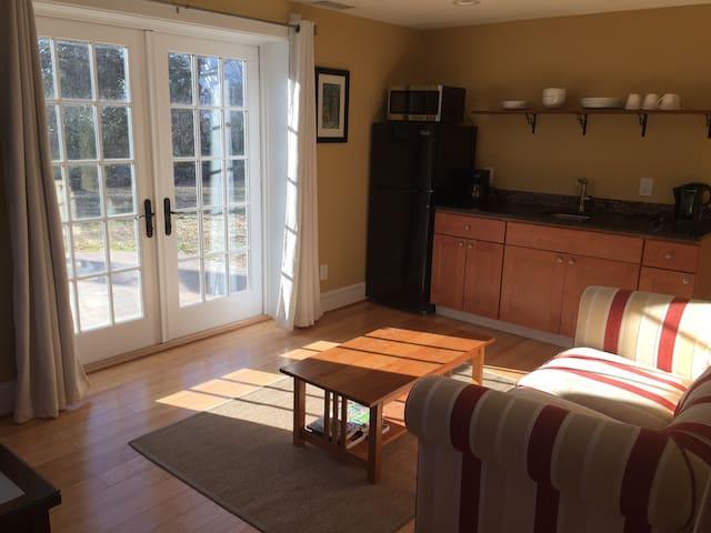 Sunny, private apartment in historic neighborhood - Hyattsville - Dom