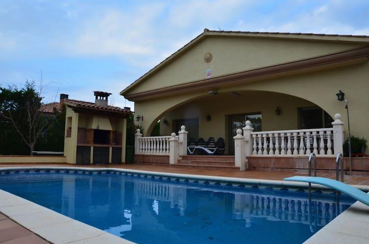 Swimming pool house Costa Brava - Vidreres - Rumah