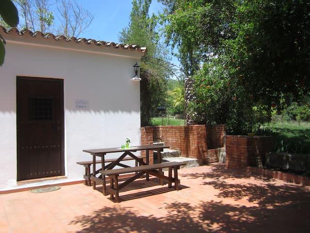 Finca Vegana, idyllic house for 4 in natural park - Bocaleones - Hus