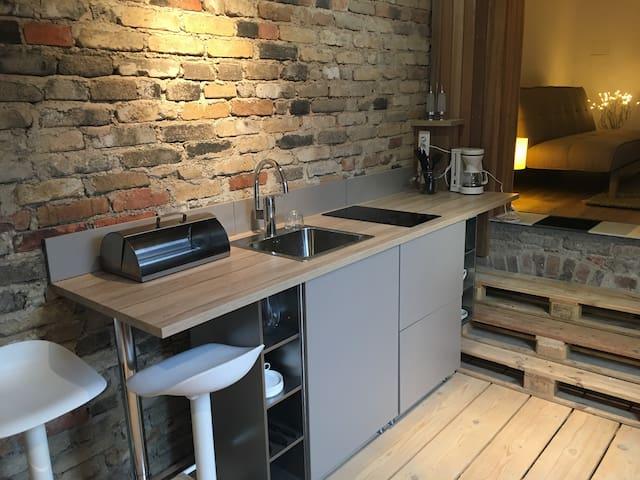 Grand studio indépendant atypique et cosy - Ottange - Daire