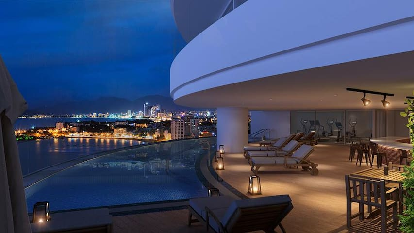 9th FL- Luxury lakeview Apartment-Watermark Tayho - Hanoi - Leilighet