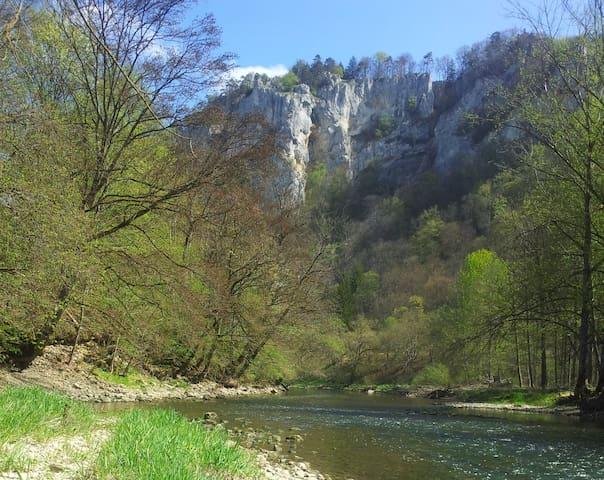 Auf dem Weg im Donautal.. - Beuron - Aamiaismajoitus