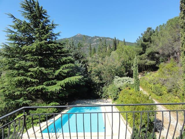 Maison au coeur du parc naturel du Haut Languedoc - Vieussan - Huis