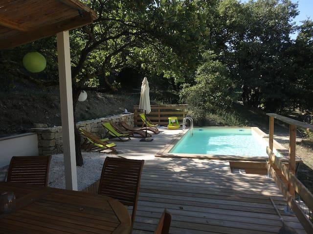 gite avec piscine en Drome provencale - La Bégude-de-Mazenc