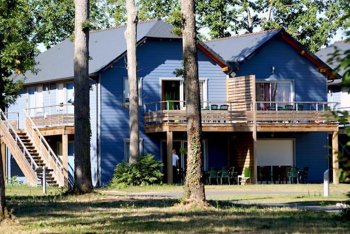 Cottage 4 personnes en Touraine avec piscine - Chaveignes - Apartment