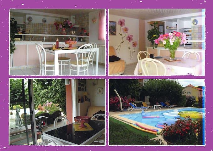 LOCATIONS DE VACANCES DANS LE LOT - Le Roc - Lägenhet
