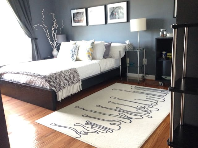 Charming Room,Bath near Dulles-W&O and wineries - Ashburn - Hus