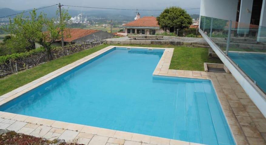 Fantástica villa con piscina privada - Viana do Castelo - Casa