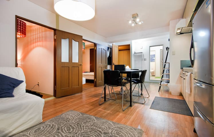 Central 3BR 5min to Namba MSG64 - Осака - Квартира