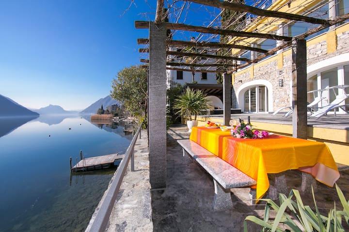 Villa Lugano Lakefront - Valsolda - 別墅