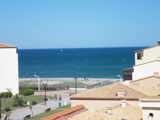 superbe T3 duplex proche de la mer - Le Barcarès - Apartemen
