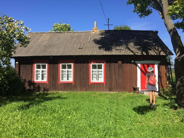 Renovated peaceful lake house. - 格卢博科耶 - Haus