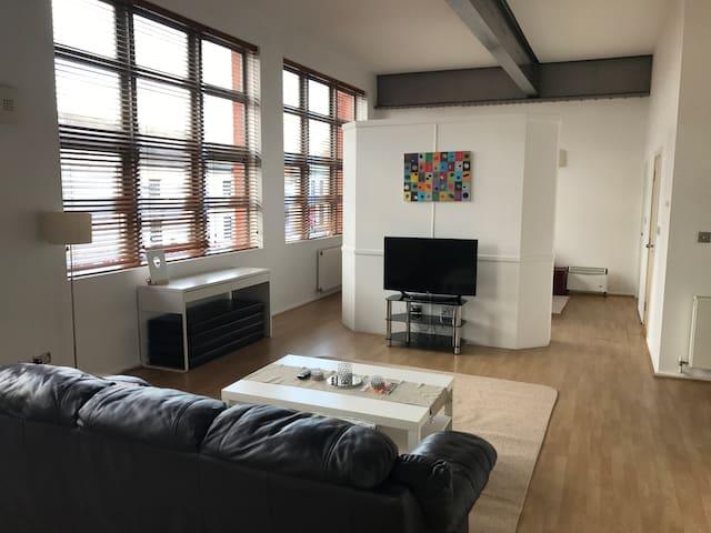 Luxury Modern Loft Style Apartment - Birmingham - Departamento