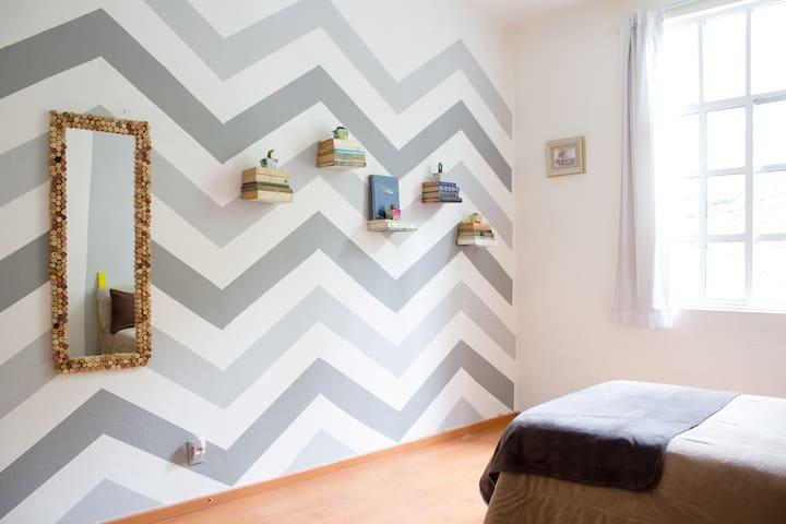 Big room in the heart of Roma Norte - Ciudad de México - Appartement