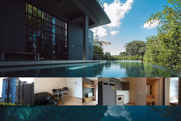Private Condominium: near DMK and RSU - Lak Hok