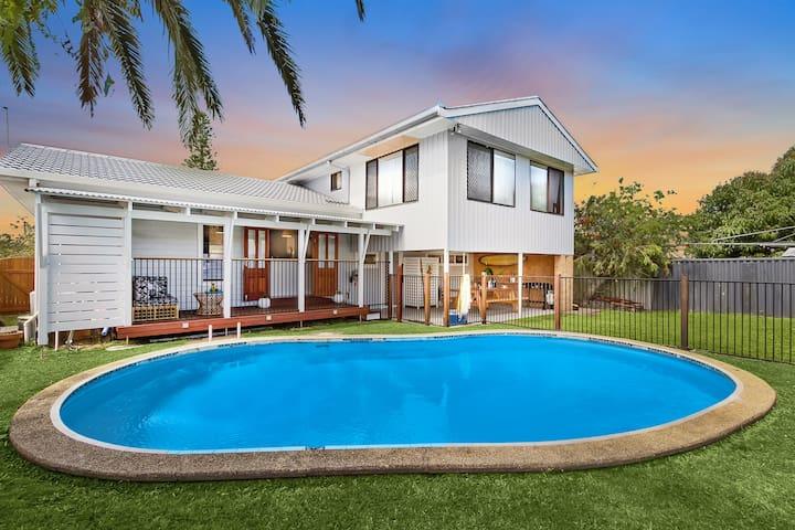 SummerSalt Family Beach House :) - Ballina