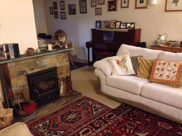 Lovely home near railway station, with parking! - Truro - Huis