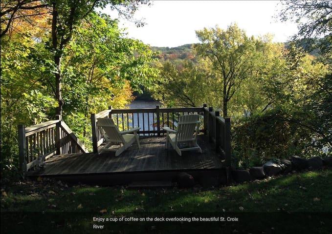 Rivertime St. Croix River Home in Taylors Falls - Taylors Falls - Huis