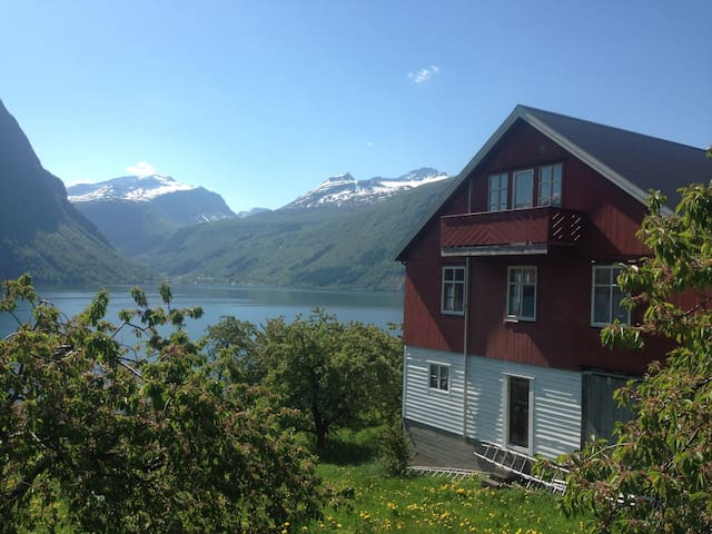 Apartment in the barn of our fruit farm in Linge - Valldal - Appartement