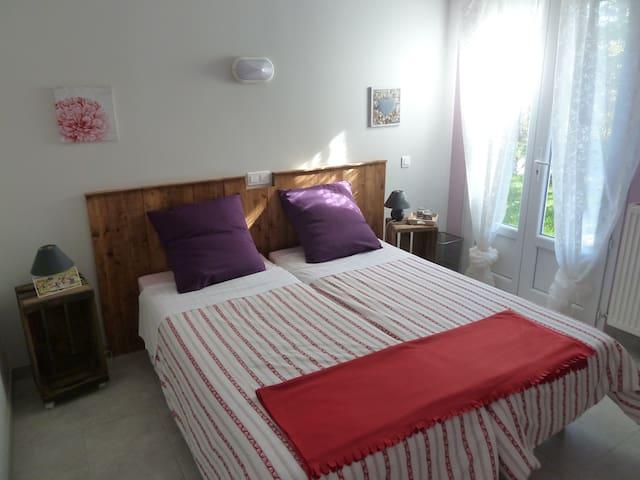 Chambre double Vanson - Authon - Bed & Breakfast