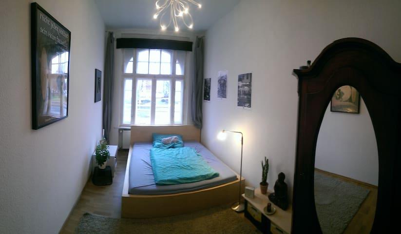 Sonniges Zimmer in Ruhiger Studenten-WG - Frankfurt (Oder) - Lejlighed