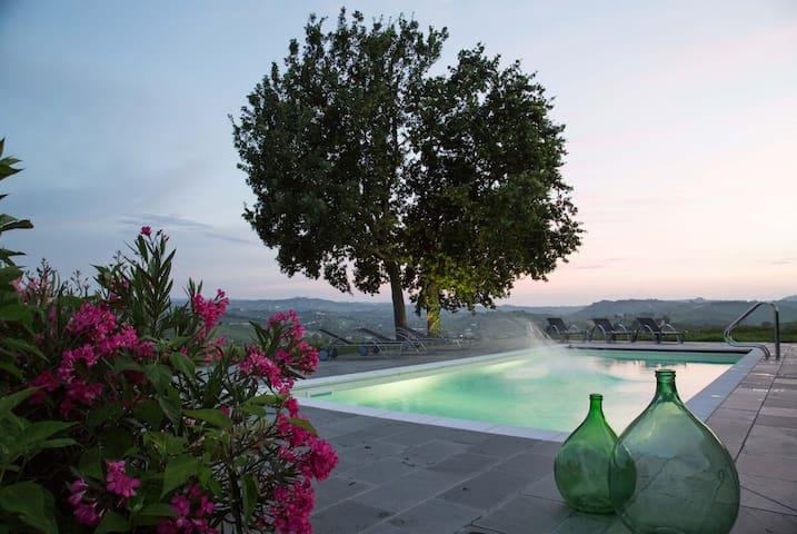 3 Leiligheter på vingård. Totalt 10 senger - Castelnuovo Calcea - Apartamento