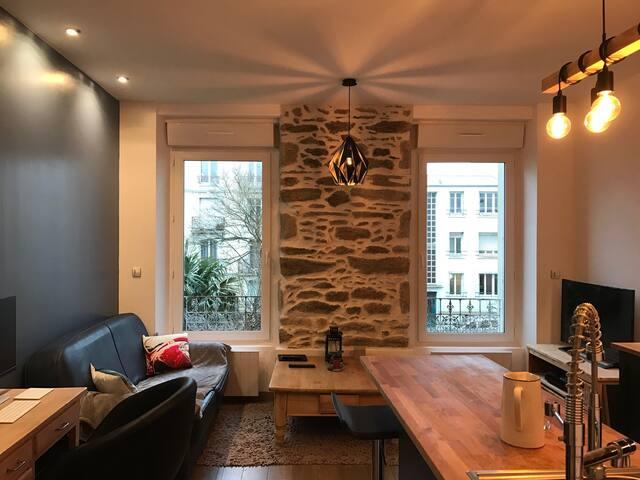Appartement de charme - Brest - Apartemen