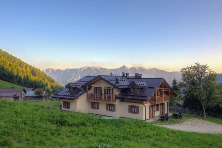 Vacanze immersi nella natura del Trentino Lagorai - Telve di Sopra - Appartement