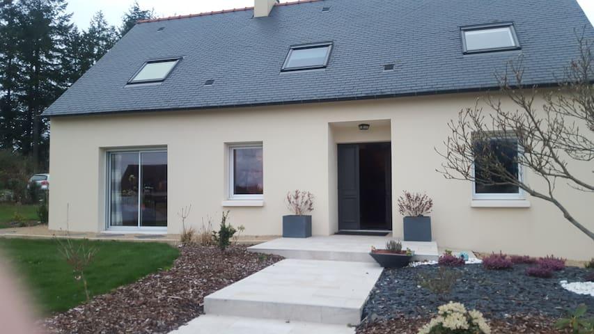 Jolie maison de campagne - Glomel - Rumah