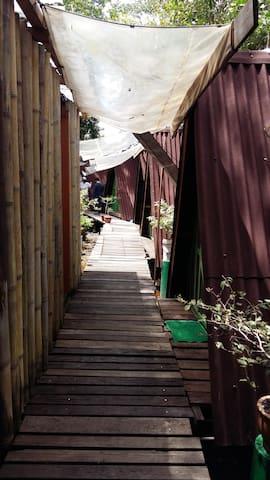 Camp Villa Monkey Tops - Beaufort - Inap sarapan