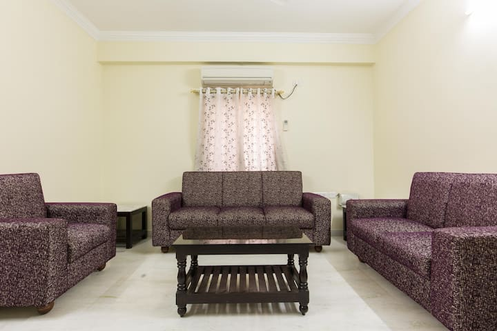Luxury Private Room with Fully Furnished - Hyderabad - Apartemen
