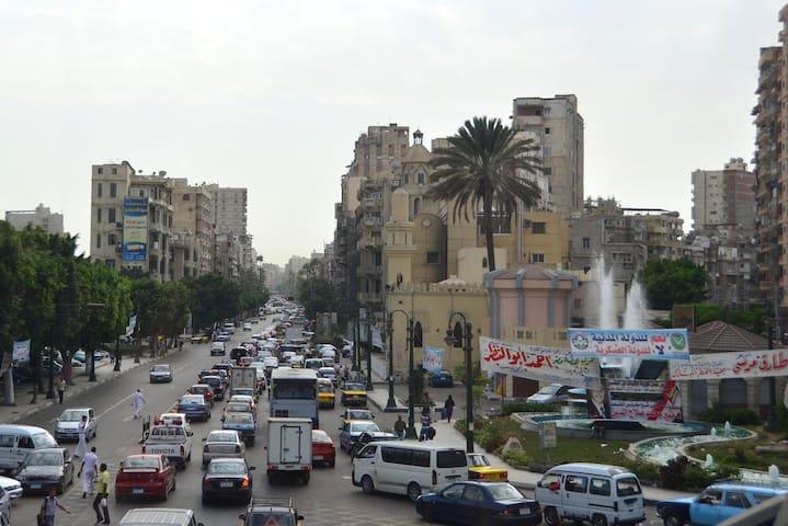 the view of hano - Al Mesallah Sharq - Lägenhet