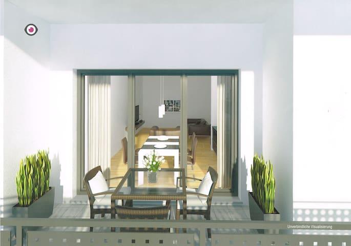 Neue moderne Penthouse-Wohnung - Griesheim