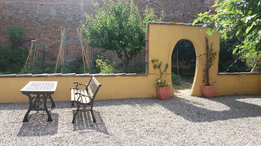 Casa amb jardí a 4km de las platges - Albons - Huis